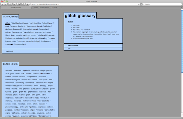 glitch_glossary so far